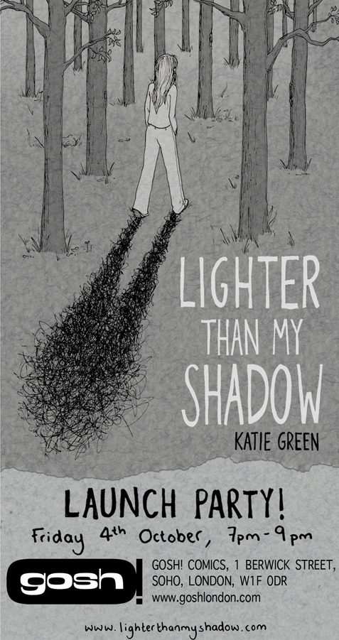 Lighter Than My Shadow Book Launch